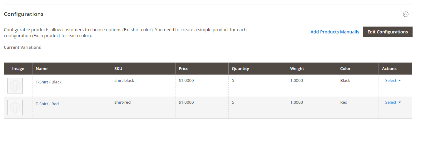 Magento 2 Import Configurable Products