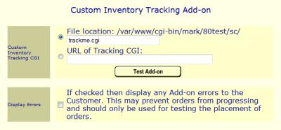 Inventory Tracking API