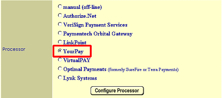 YourPay Payment Processor